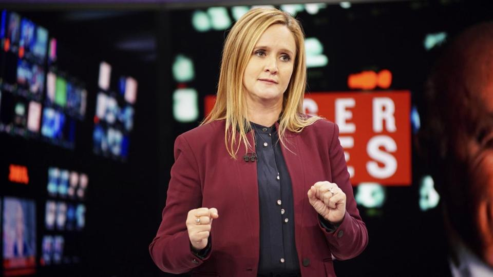 """Full Frontal with Samantha Bee"" on TBS stars the Canadian comedian."