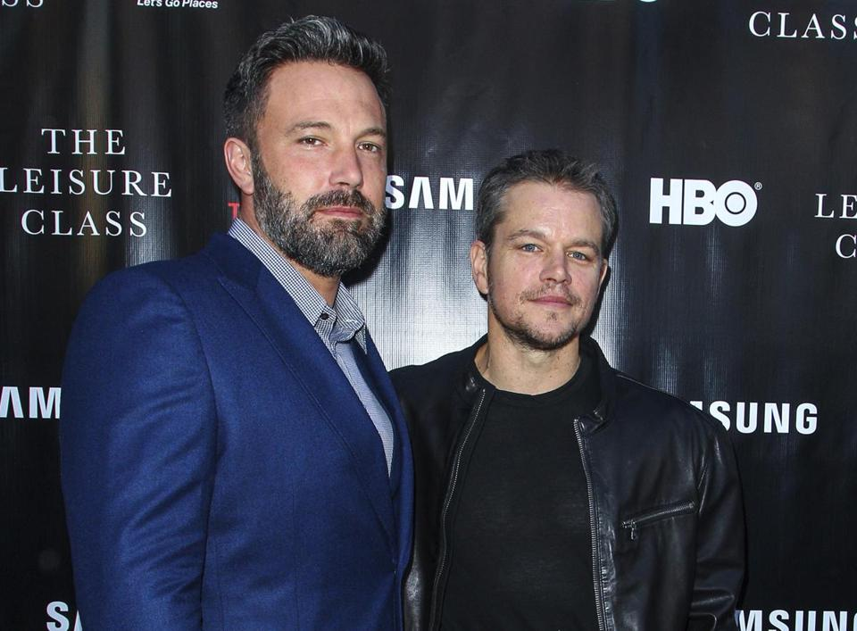 Ben Affleck (left) and Matt Damon in 2015.