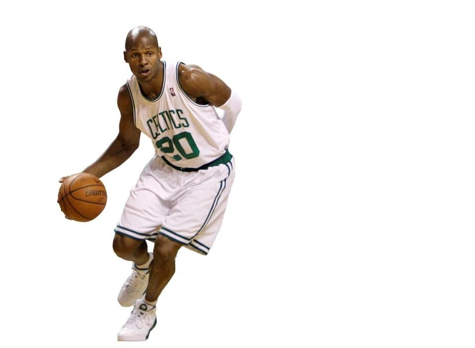 Former Celtic Ray Allen is playing a new position: author.