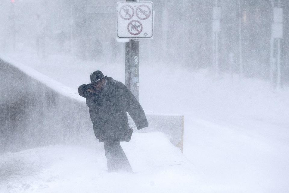 Warm Arctic means colder, snowier winters in northeastern U.S., study says