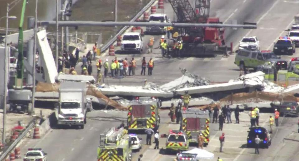 Florida Footbridge Collapse Updates: Several Killed, Says Local Media