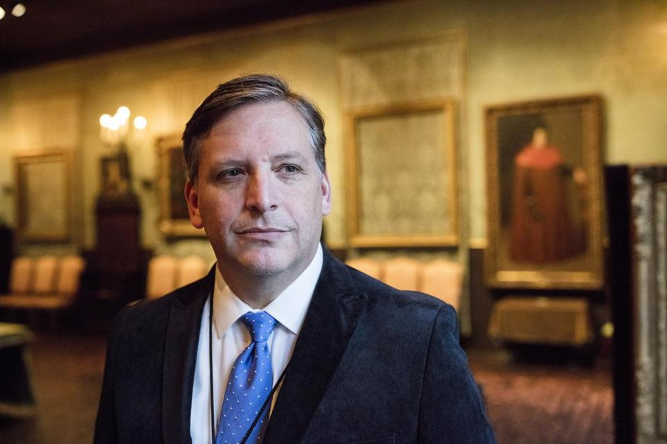 Anthony Amore, the director of security at the Isabella Stewart Gardner Museum in Boston, is the  first GOP contender for Massachusetts secretary of state this year.