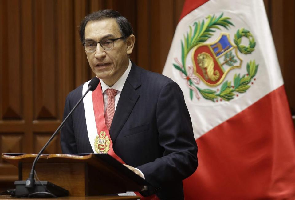Incoming president of Peru under pressure to quit