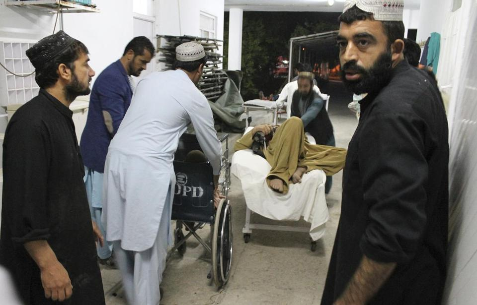 Vehicle bomb kills 13, wounds 40 near stadium in Afghanistan