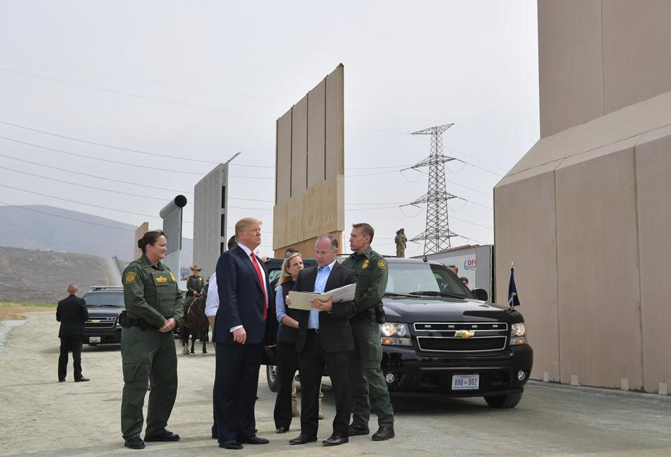 Trump Floated Idea Of Military Paying For Wall