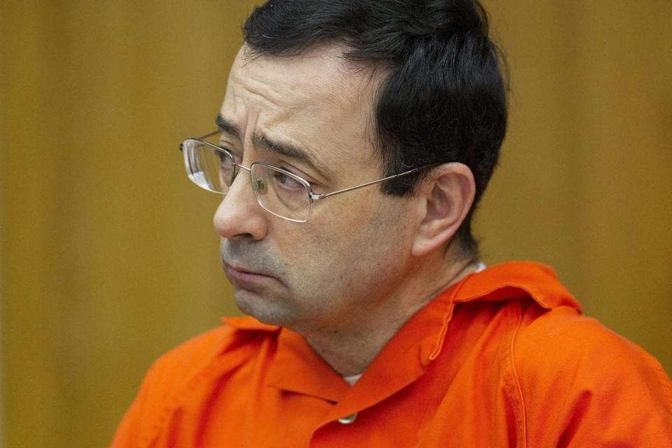 Larry Nassar's ex-boss at Michigan State charged with sex crimes