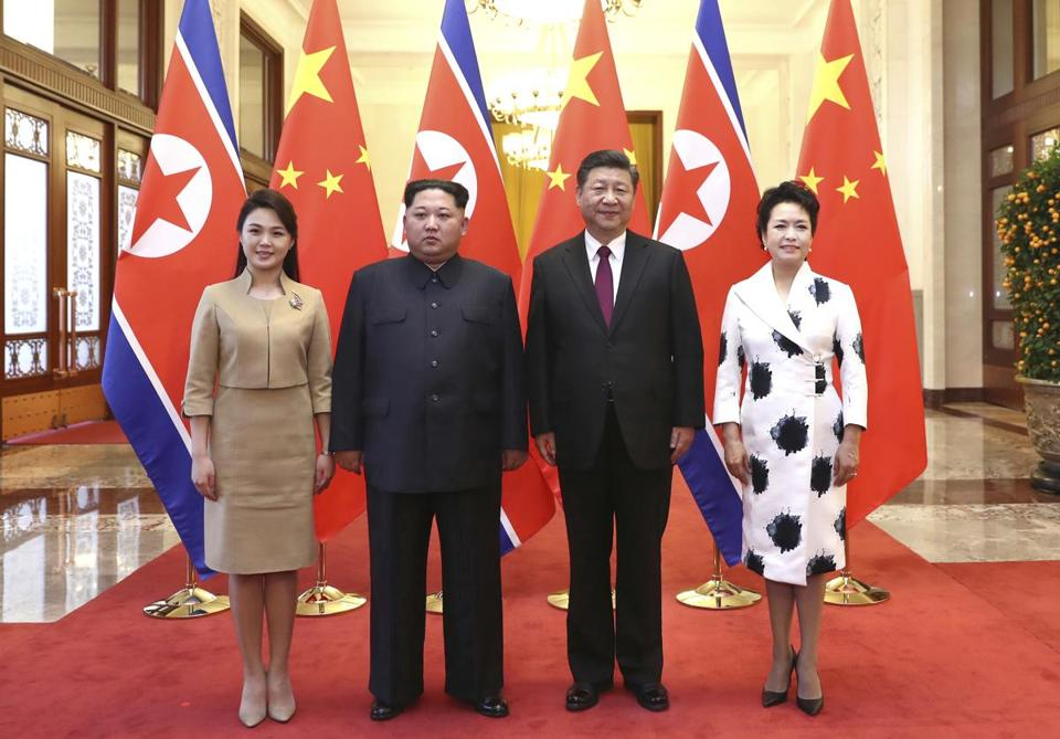 Top North Korean official in China