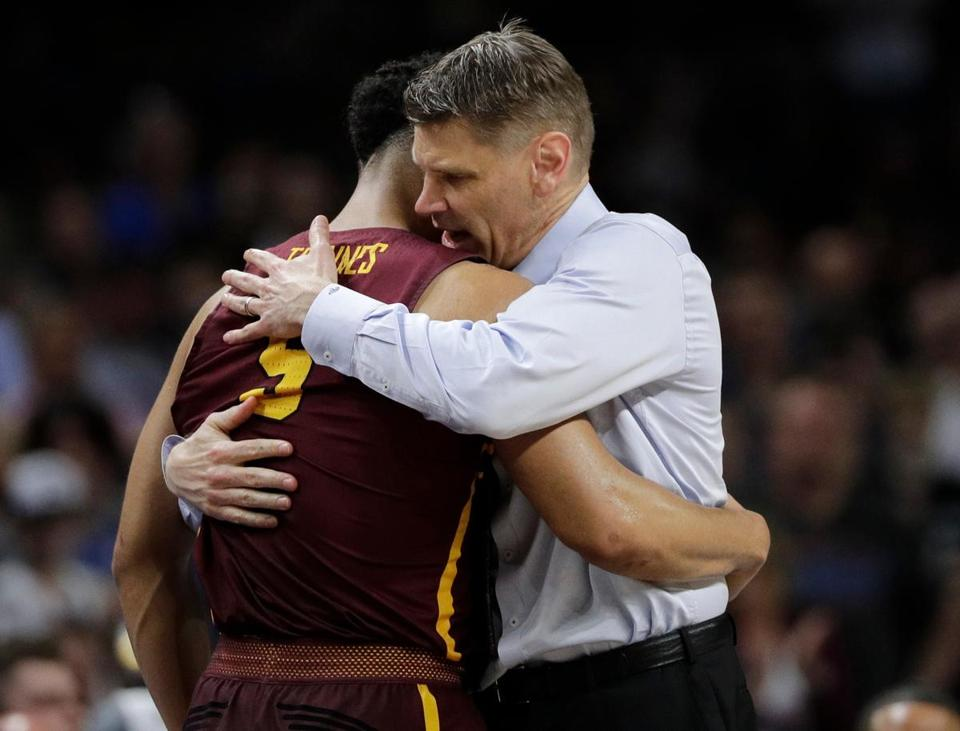 NCAA Latest: Michigan coach thinks Loyola seeded too low