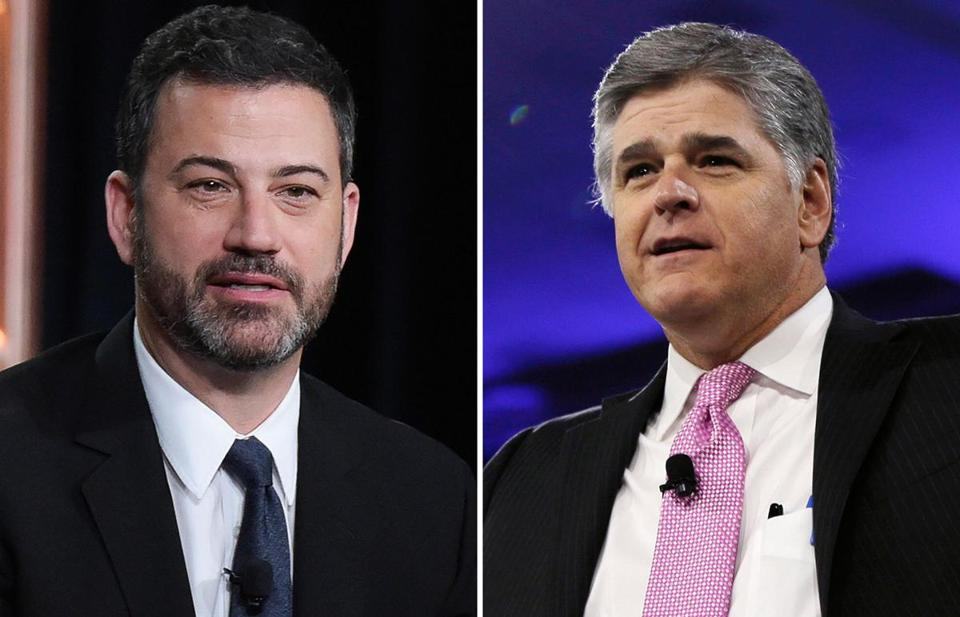 Hannity Calls Kimmel 'Harvey Weinstein Jr.' In Twitter Storm