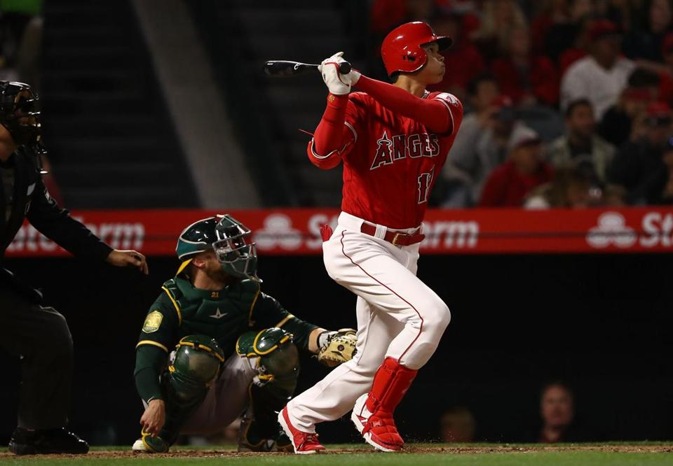 Shohei Ohtani loses flawless game in seventh inning, finishes with 12 strikeouts