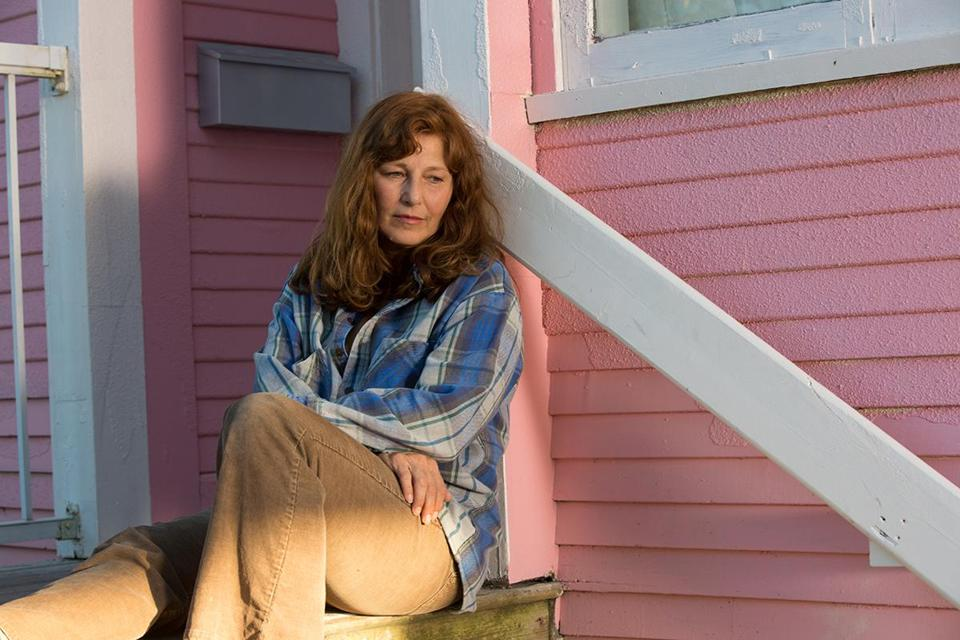 "Catherine Keener plays Susette Kelo in ""Little Pink House."""