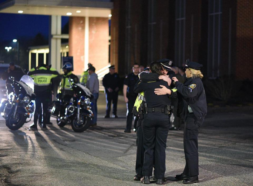 Suspect accused of killing MA  cop reportedly had 114 prior offenses