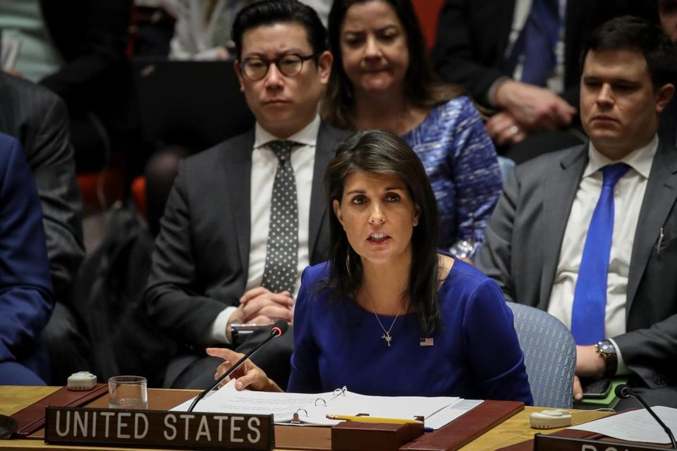 Ambassador to the United Nations Nikki Haley is at odds with the White House which has said she was confused about sanctions against Russia. She denies having been confused