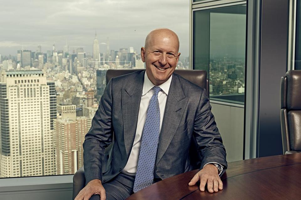 Goldman Sachs Earnings: It's the Trading, Silly