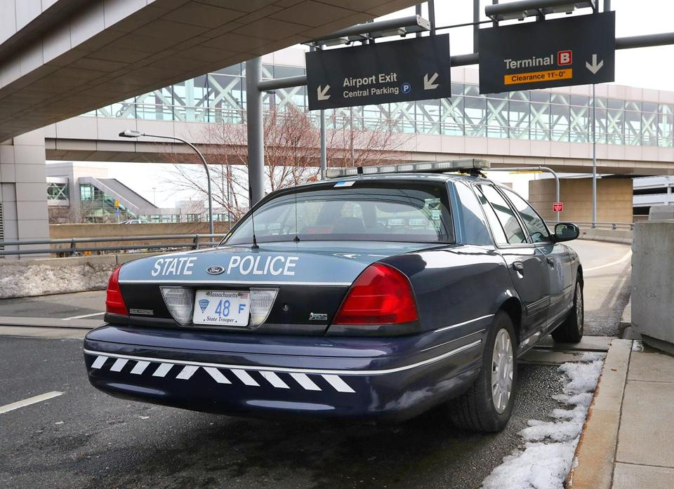 New disclosures show state troopers who worked out of Logan Airport get $40 every day for driving their car to work.