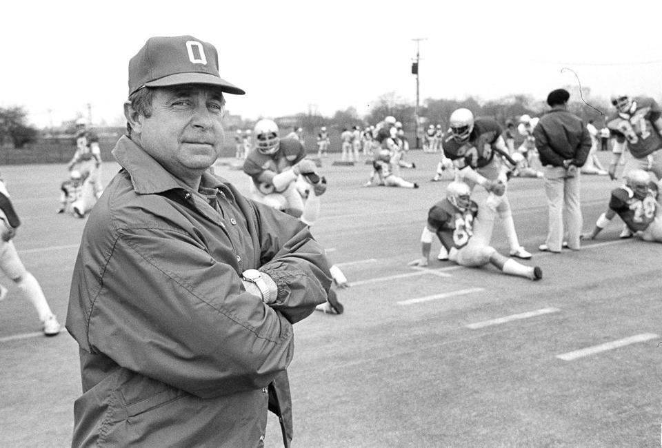 Former Ohio State, University of Tampa coach Earle Bruce dies