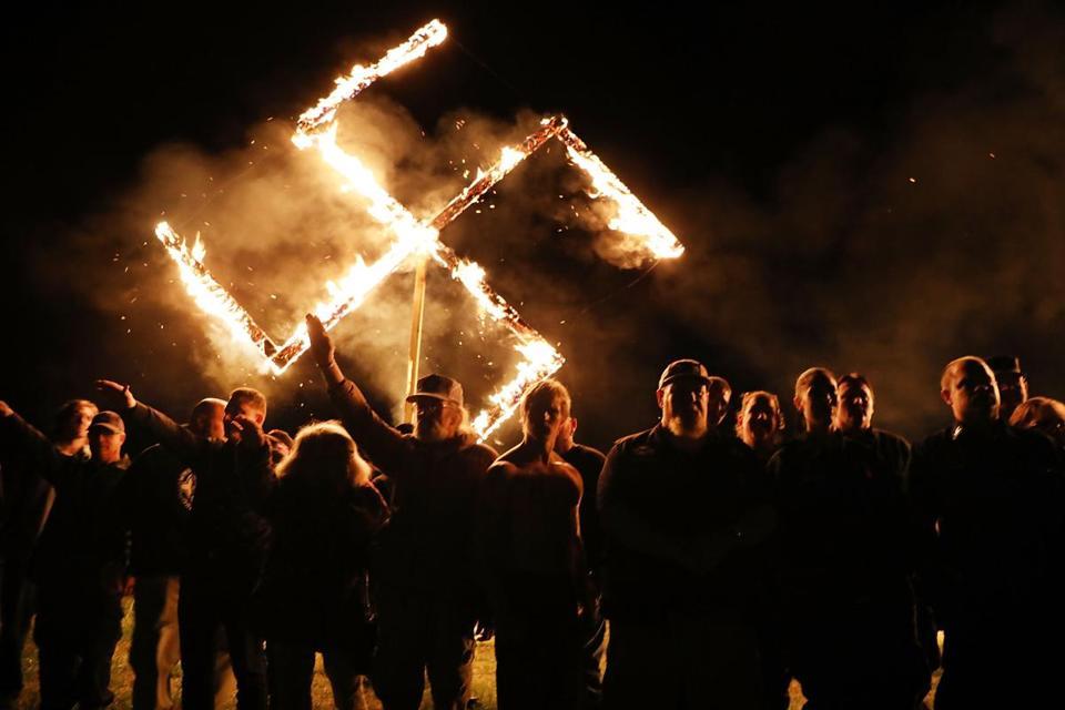 Neo-Nazi Counterprotesters Face 'Aggressive Over-Policing' in Georgia