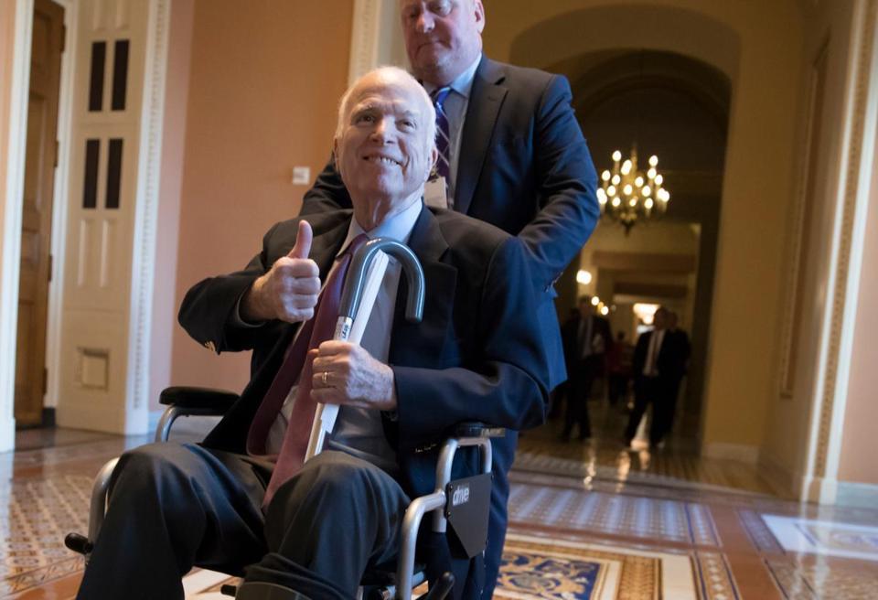 Arizona Sen. Jeff Flake To Visit Sen. John McCain After Surgery