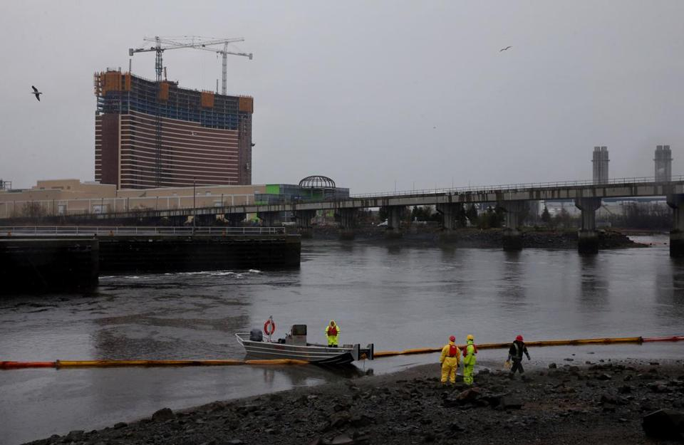 The Wynn Resorts' Everett casino is scheduled to open in June 2019.