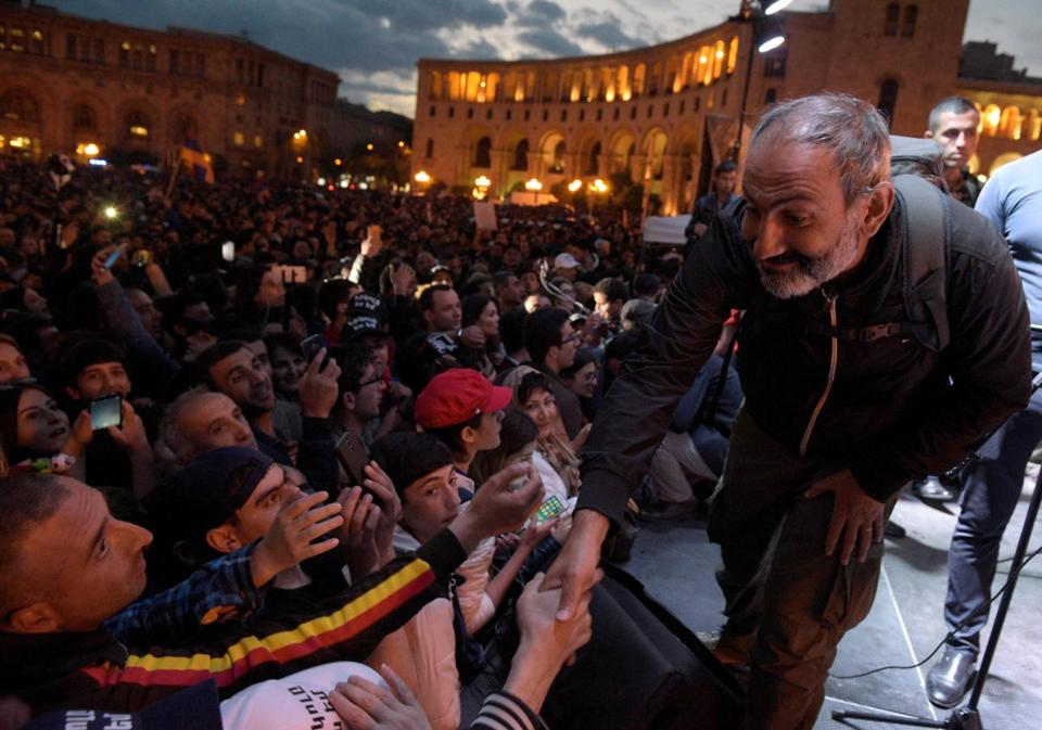 Situation is frantic at Armenia President's office — Newspaper