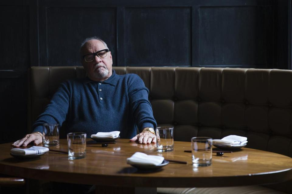 "Director Paul Schrader is in Boston for the area premiere of his new movie ""First Reformed."""