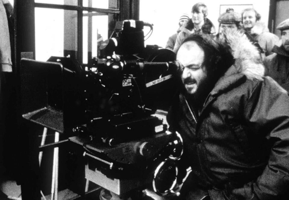 "Stanley Kubrick (above on the set of ""The Shining"") is the subject of the exhibit ""Through a Different Lens."""