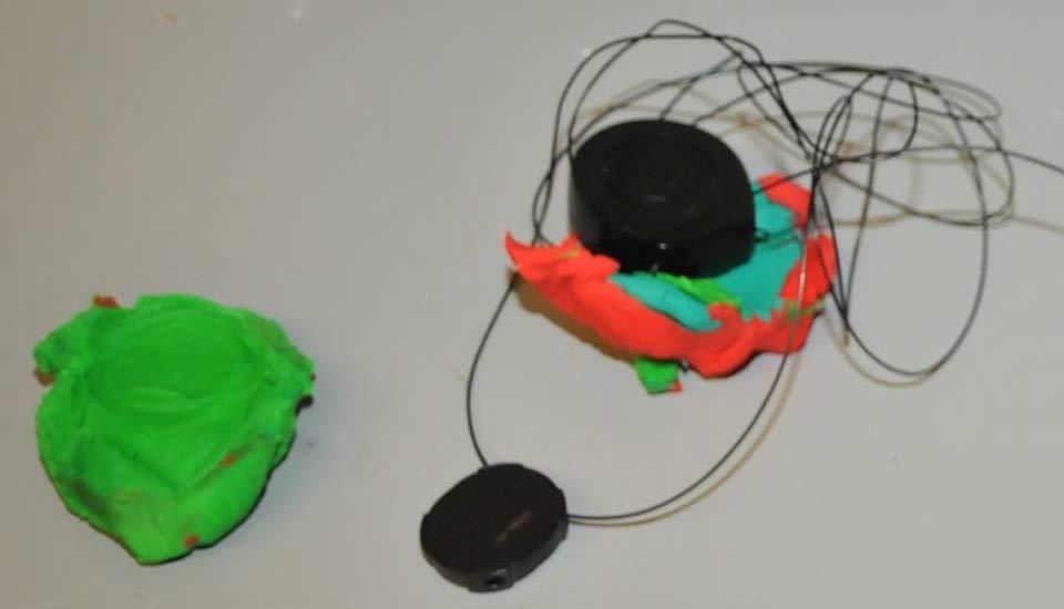 Fingerprint left in Play-Doh leads to arrest