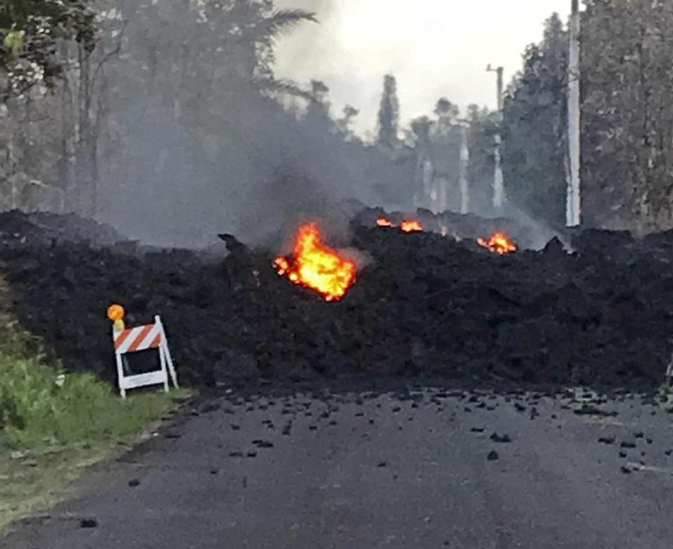 Hawaii's Mount Kilauea Volcano Eruption Progresses, 10 Volcanic Fissures Now Open