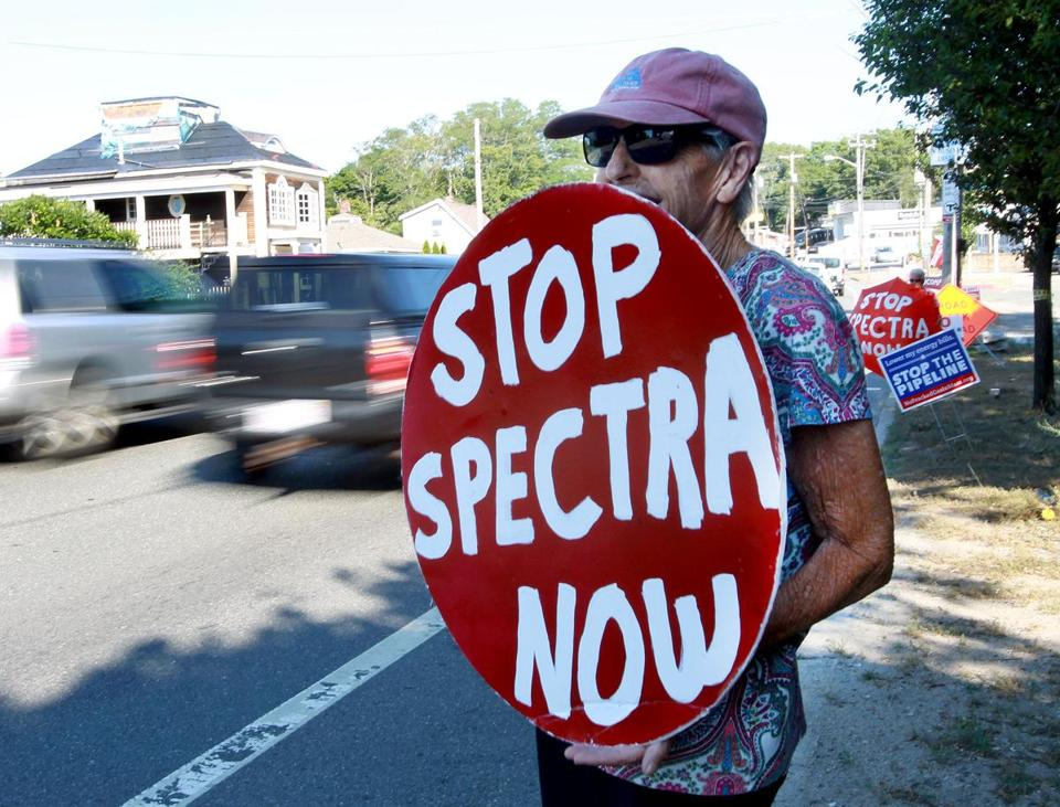 Protests against the Weymouth natural-gas compressor project began before Enbridge acquired Spectra.