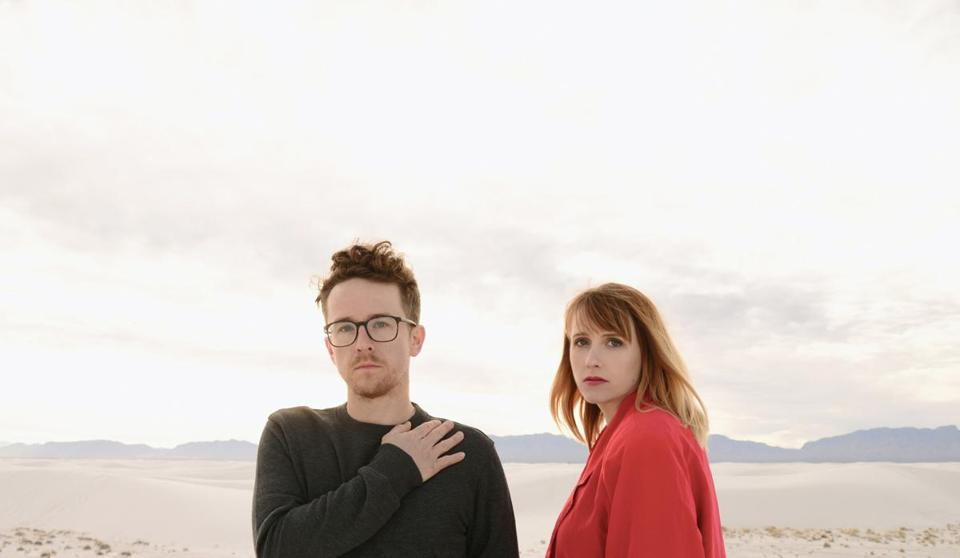 Andy Stack and Jenn Wasner of Wye Oak play the Sinclair May 13.