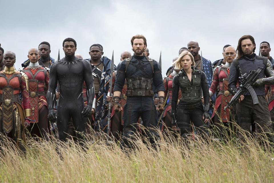 "The filmmakers threw almost every known superhero movie star into ""Avengers: Infinity War,"" and then some."
