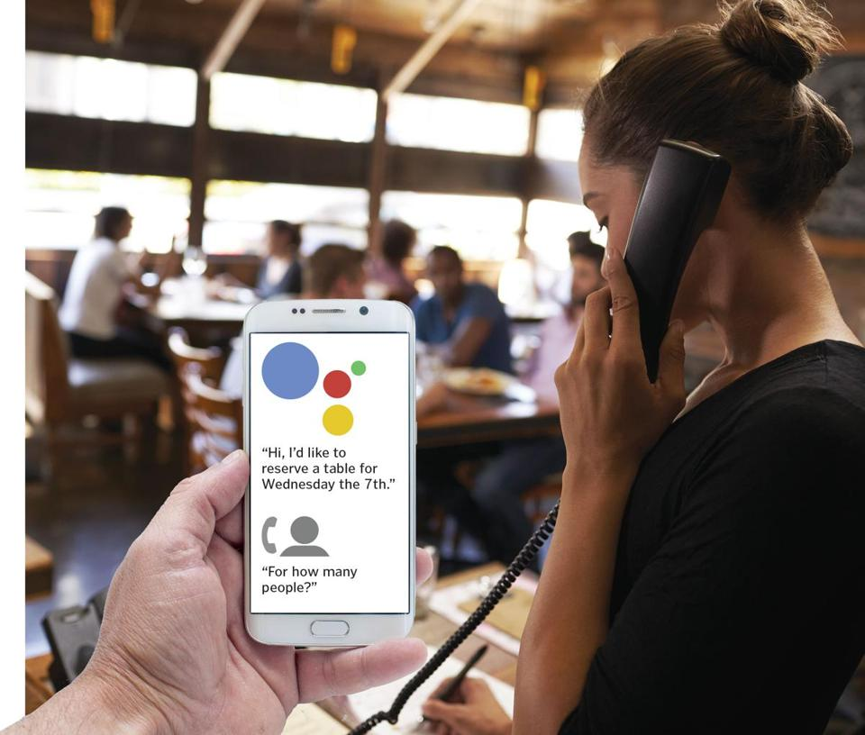 Google: Duplex phone calling AI will identify itself