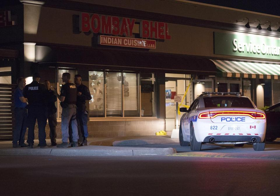 15 wounded in blast at Indian restaurant in Canada