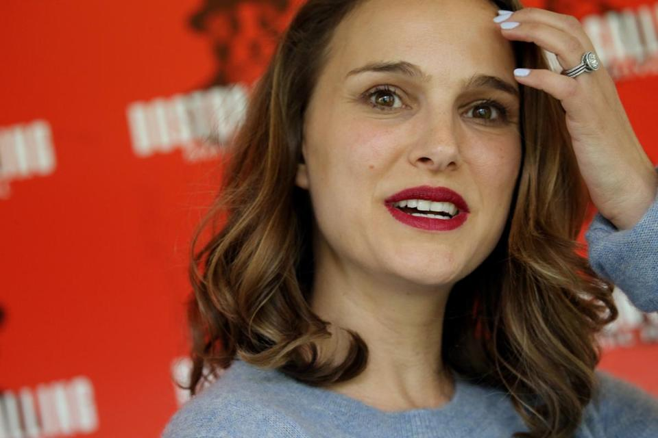 Natalie Portman posed for a photo on Saturday.