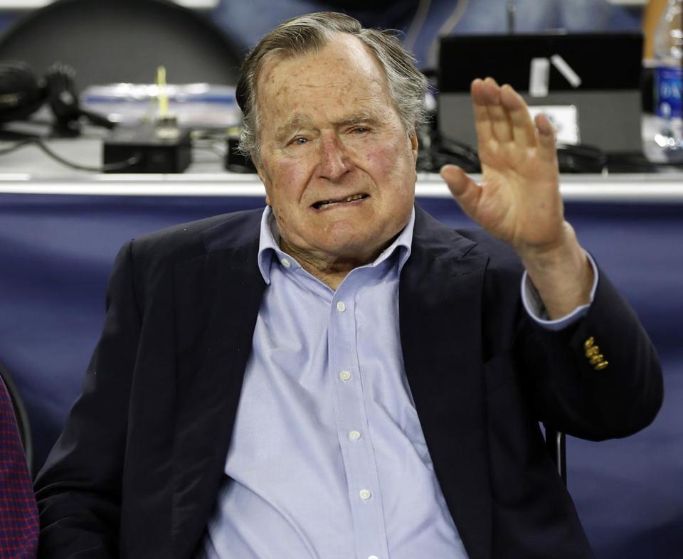 President George H.W. Bush taken to ME hospital