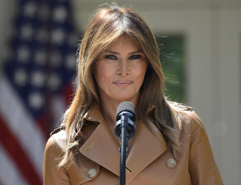 First Lady Melania Trump skipping G7, North Korea summits