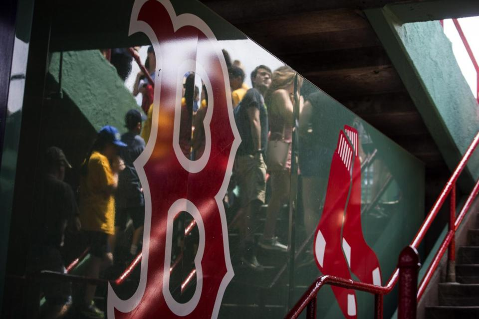 Life in the bleachers at Fenway Park