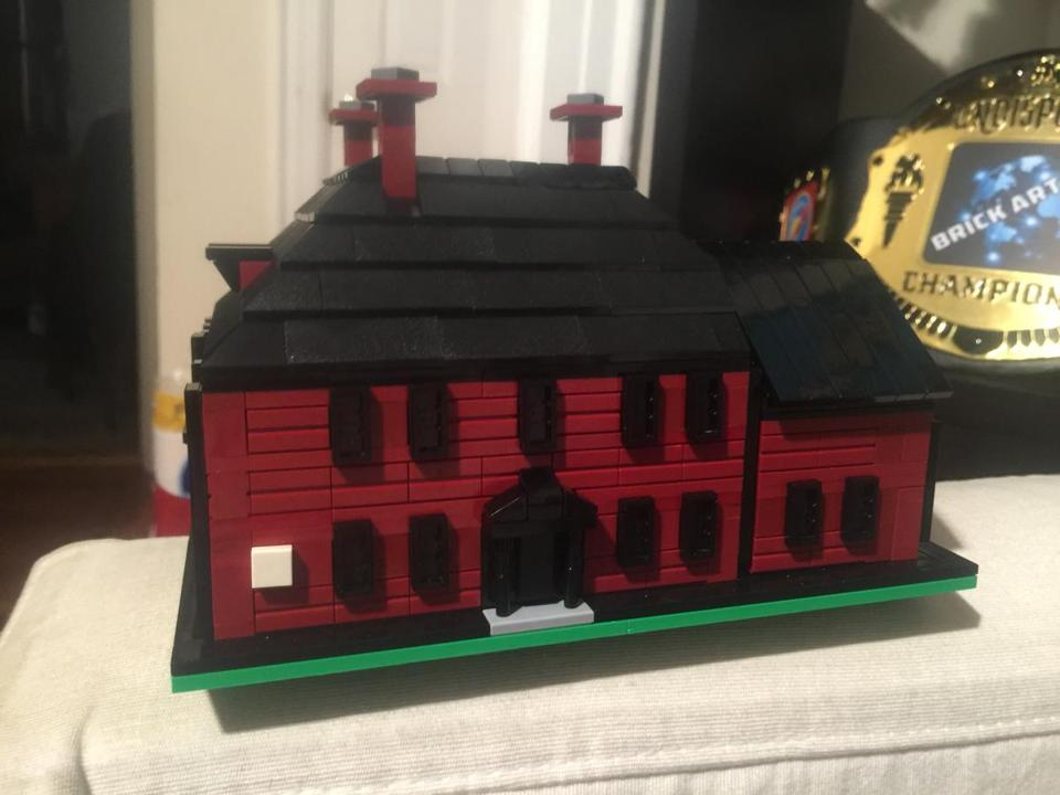 10wecalendar -- A model of Wright Tavern built out of Legos will be on exhibit at the Concord Museum's Family Lego Build (Handout)
