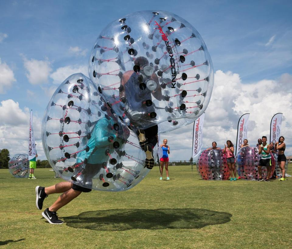 Knockerball at Cranmore Mountain Resort.