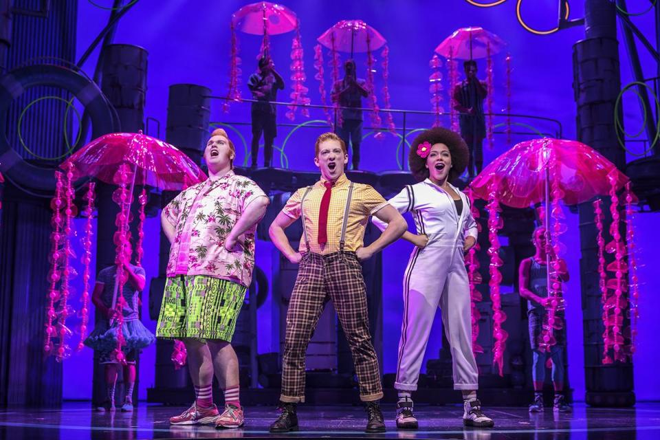 """SpongeBob SquarePants"" is one of the major contenders for Tony Awards."