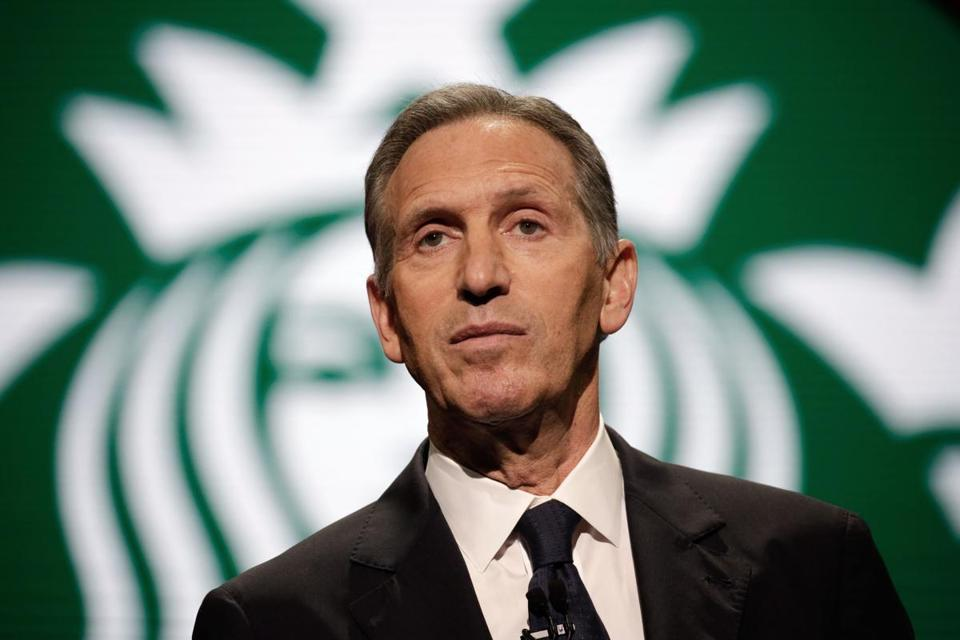 Howard Schultz to Step Down as Starbucks Executive Chairman