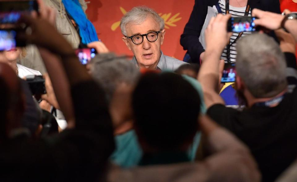"Said director Woody Allen: ""I've worked in movies for 50 years, I've worked with hundreds of actresses . . . and not a single one, big ones, famous ones, have ever, ever, suggested any kind of impropriety at all."""