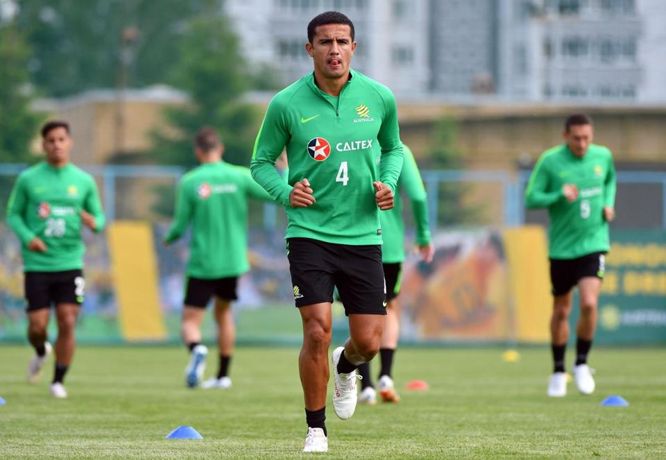 Tim Cahill, Australia's all-time leading scorer, leads the Socceroos into their fourth straight World Cup appearance.