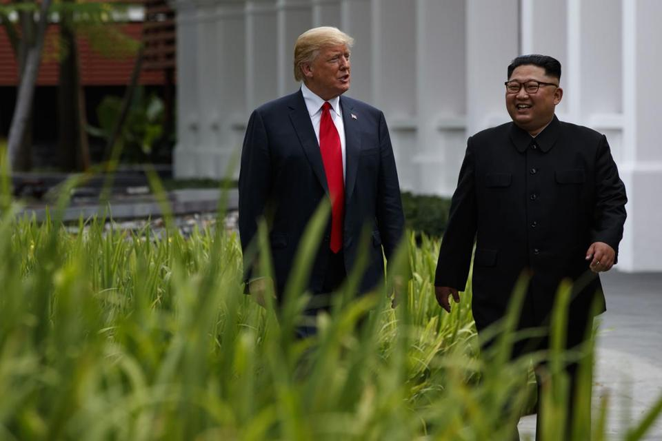 Kim Jong Un commits to 'complete denuclearization' after meeting with Trump
