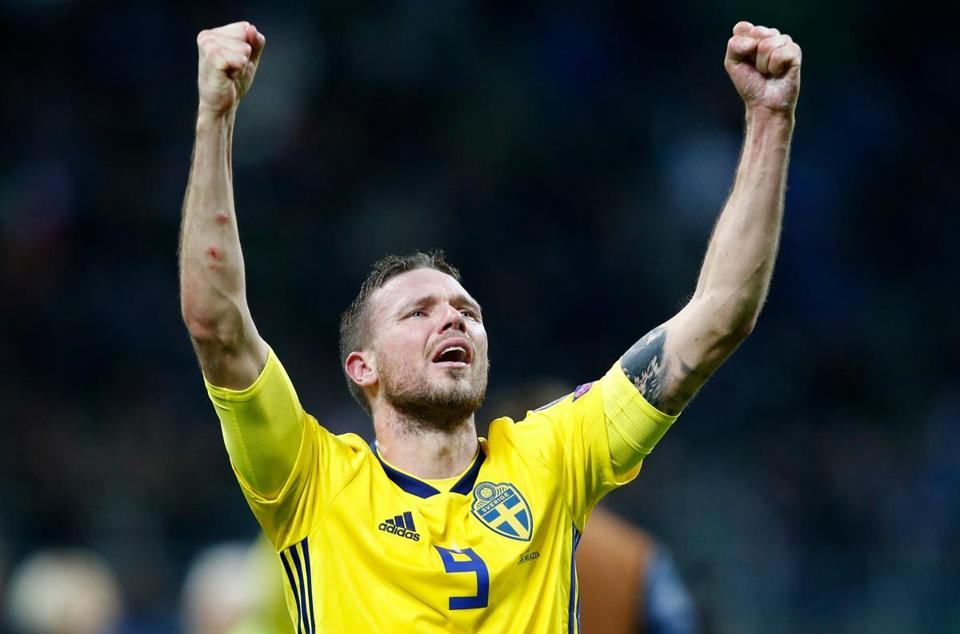 Marcus Berg, making his World Cup debut, scored eight goals in qualifying.