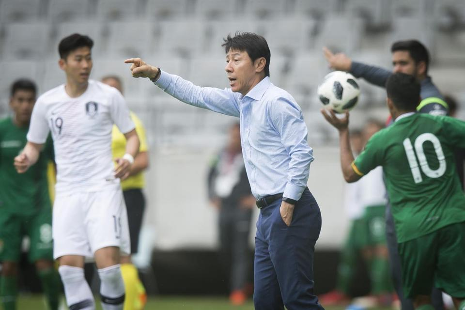 Shin Tae-yong may back off on his attacking game and focus on defense in Russia.