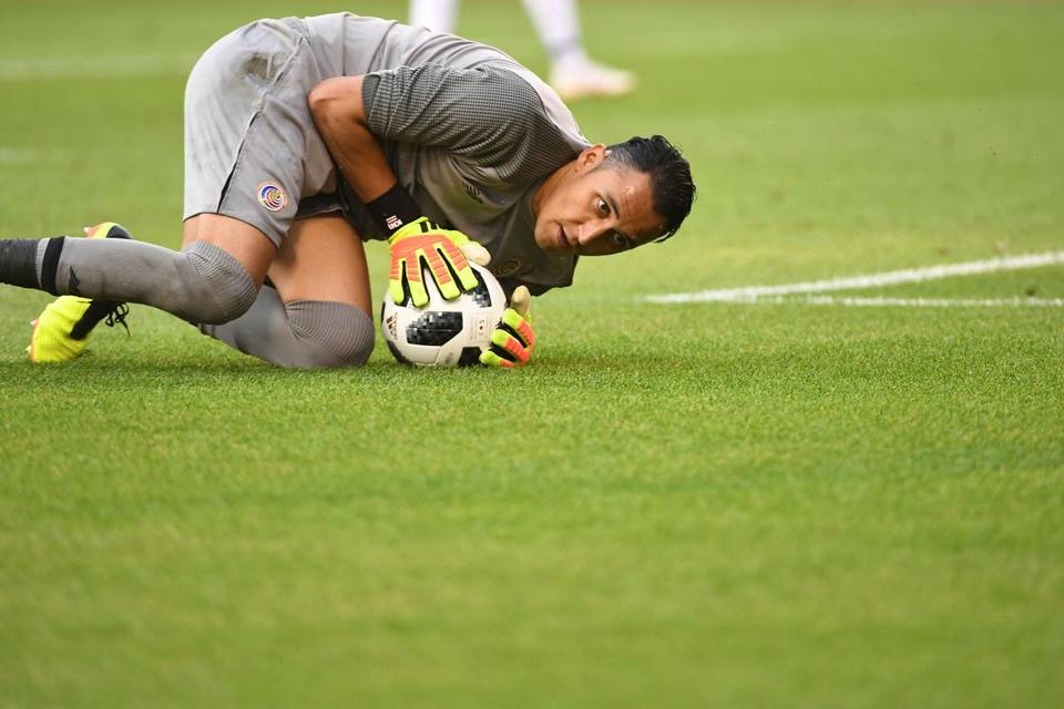 This is the second World Cup for goalkeeper Keylor Navas, helping Costa Rica advance to the quarterfinals in 2014.