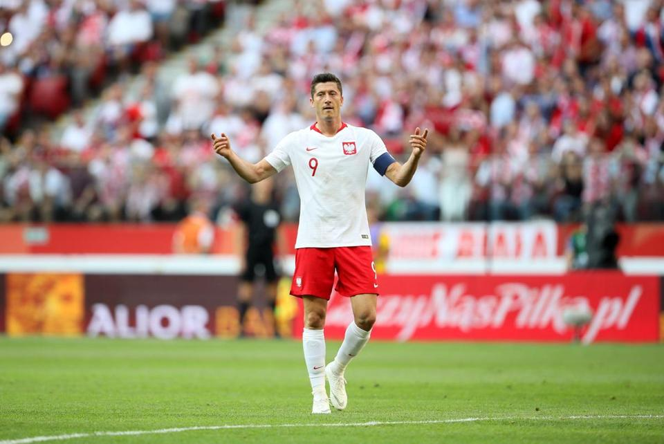 Robert Lewandowski has nearly 100 caps under his belt for Poland.