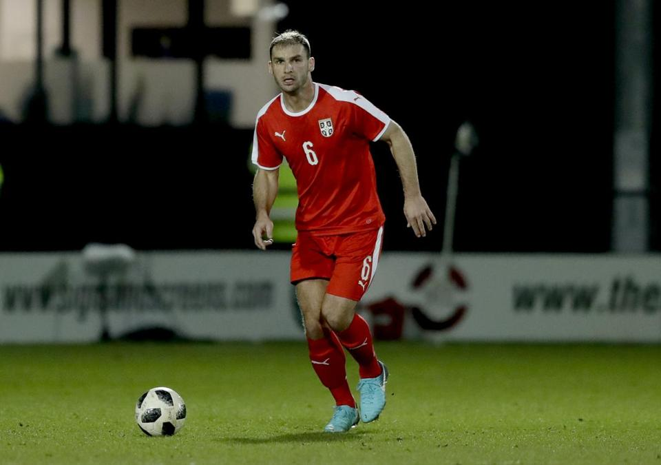 Branislav Ivanovic has more than 100 caps for his country's team.