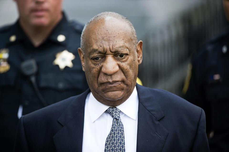 Bill Cosby left court during a hearing in August, 2017.